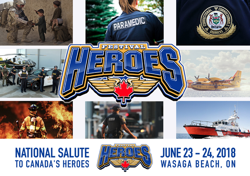 June 22-24 – Celebrate Our Heroes and Enjoy Good Old Fashioned Food and Fun When You Visit Stayner This Weekend