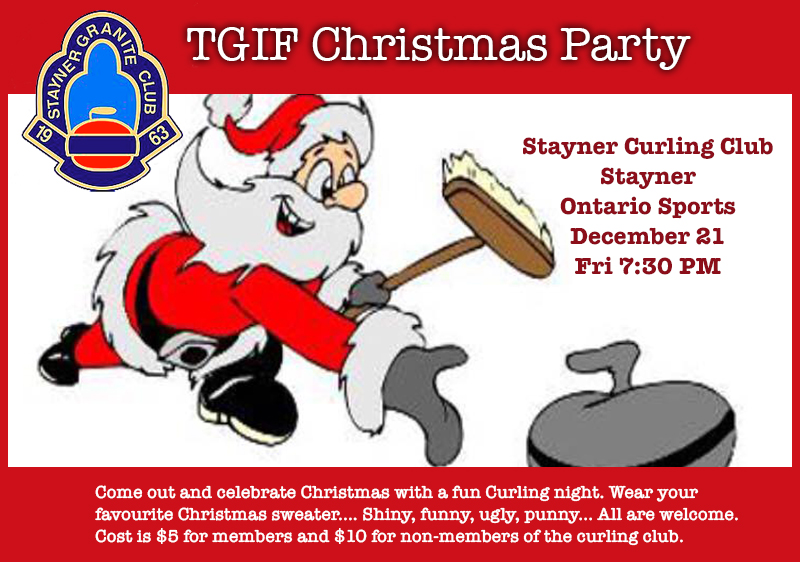 December 21-23 – Enjoy Fun Holiday Activities When You Visit Stayner This Weekend
