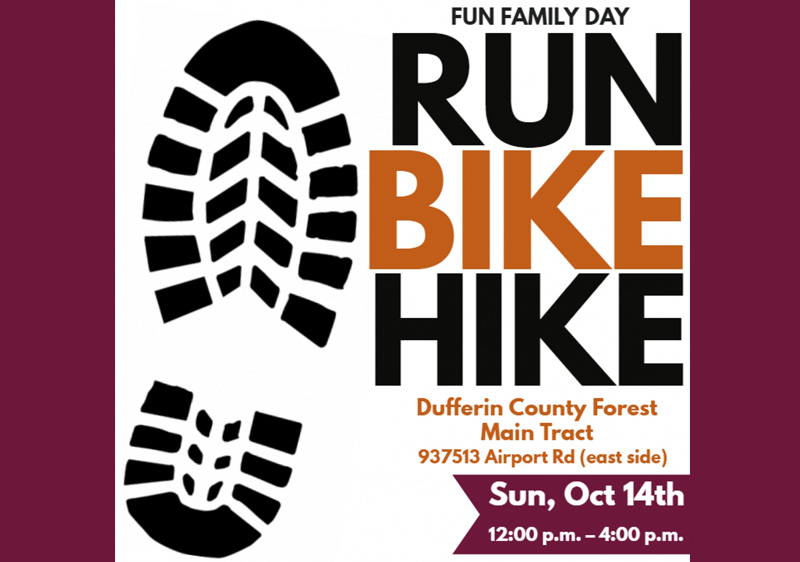 October 13, 14 – Have a Blast, Enjoy a Bazaar and Bike, Hike or Run When You Visit Stayner this Weekend