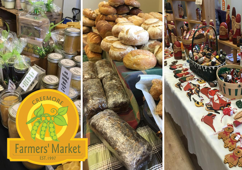 December 8-9 – Find Unique Gifts and Enjoy Fresh Local Food When You Visit Stayner This Weekend