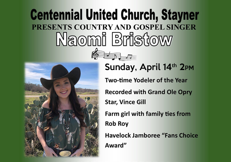 April 13, 14 – Be Inspired When You Visit Stayner This Weekend