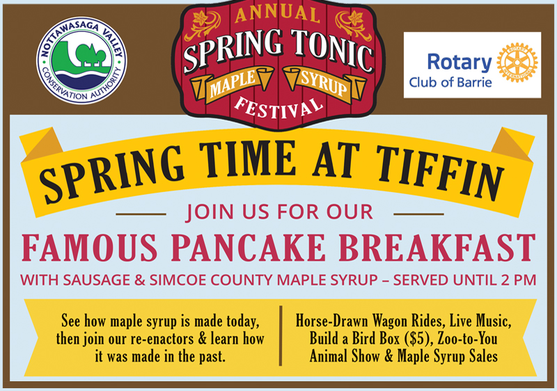 April 5-7 – Welcome Spring and Show Your Support When You Visit Stayner This Weekend