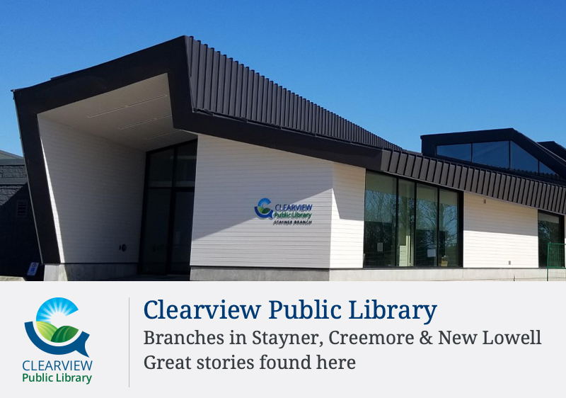 Check Out Our New Community Hub: The Stayner Branch of the Clearview Public Library