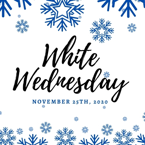 Be Sure to Stop and Shop the White Wednesday Sales in Clearview