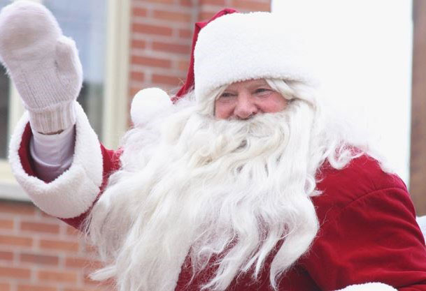 See Santa on Tour in Stayner