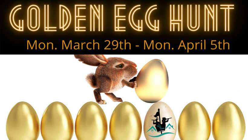Find the Golden Egg in Creemore This Week